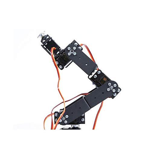 6 DOF 3D Rotating Mechanical Robot Arm Kit For Smart Car - Arduino Compatible SCM & DIY Kits Smart Robot & Solar Panel - (Bracket with Metal Helm + six DS3115 servos) - 1 x DIY 6 Digit LED Large by Unknown (Image #5)