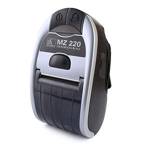 (Zebra MZ 220 Mobile Bluetooth Receipt Printer MZ 220 Thermal Wireless Printer Direct Portable Printer M2E-0UB0E020-00)