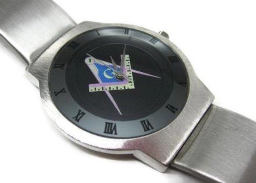 Happy New Year Gifts Wristwatches USFSS42 Ultra Slim Stainless Steel Watch NEW / Mason Masonic #2 Stainless Steel Masonic Watch