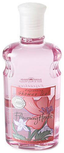 (Bath & Body Works Classics Refreshing Flowering Herbs Pleasures Collection Shower Gel 10 oz)