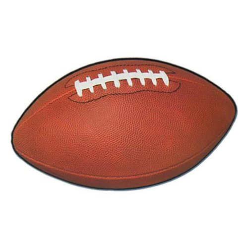 Football Cutout Party Accessory (1 count) -