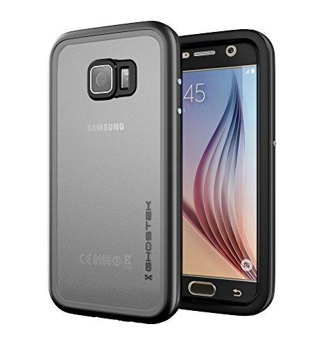 Ghostek Atomic Heavy Duty Waterproof Case Compatible with Samsung Galaxy S6 - Black
