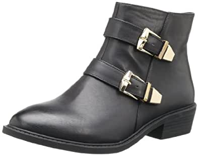 Wanted Shoes Women's Alamos Bootie,Black,5.5 M US