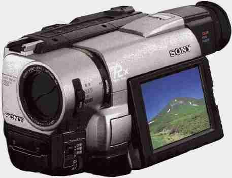 Sony CCD-TRV85 Hi8 8mm Hi-Fi Stereo Video Camera Handycam with 3.5