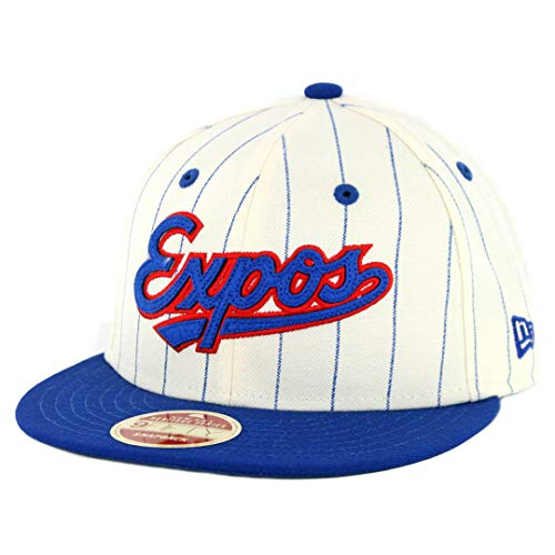 New Era 950 Montreal Expos All Star Game 2018 Pinstripe Snapback (OWH-RBL) ()