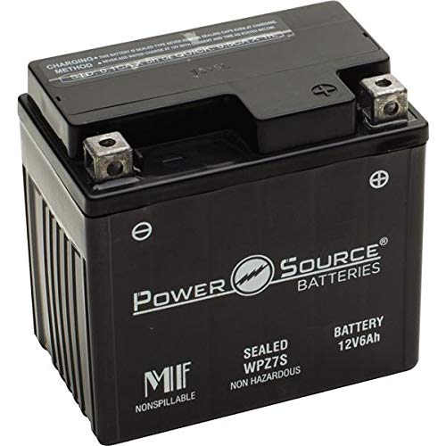 PowerSource 01-322 WPZ7S Sealed Battery -