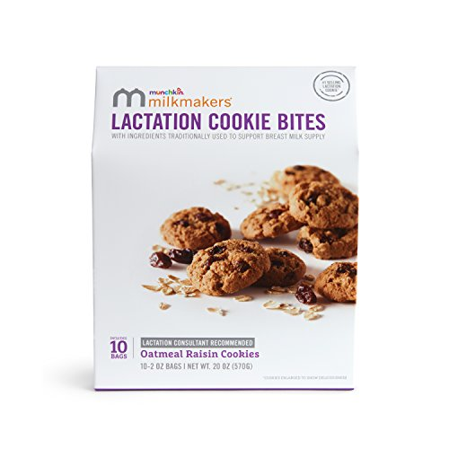 Milkmakers Lactation Cookie Bites, Oatmeal Raisin, 10 ()