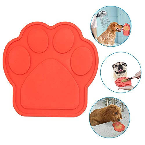 Bath Buddy for Dogs, Dog Distraction, Dog Lick Pad Spreading Peanut Butter to Make Bath Time Easy and Funny, Durable Dog Bath Grooming Accessories Made of Food Grade Silicone, Non-Toxic by CloudWave