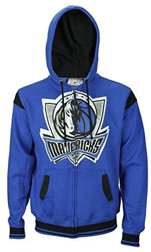 Zipway NBA Dallas Mavericks Youth Full Zip Hoodie, Blue (Youth ()