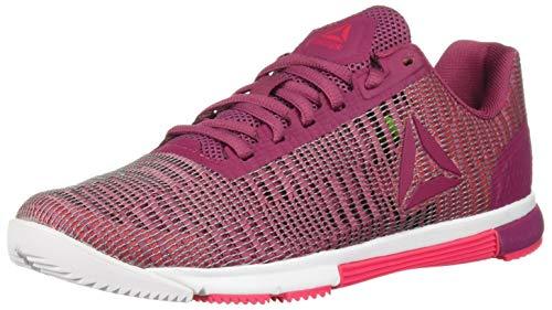 Reebok Women's Speed Tr Flexweave Cross Trainer, Berry/Twisted Pink, 7 M - Distributors Tr