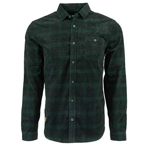 (Globe Men's X Drizabone Long Sleeve Shirt Dusty Olive X-Large)