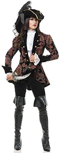 Elegant Pirate Lady Costume (CHARADES ELEGANT PIRATE LADY S)