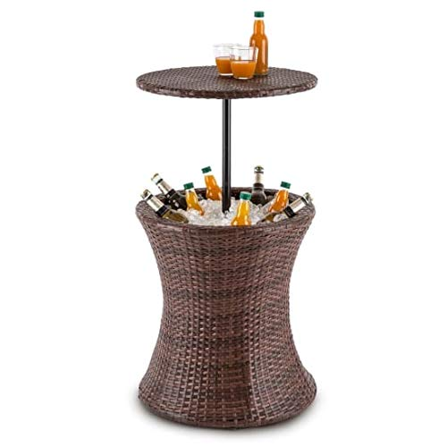 Blumfeldt Beerboy mesa de jardín enfriador de bebidas por hielo ...