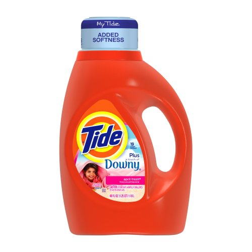 Tide With Touch Of Downy April Fresh Scent Liquid Laundry De