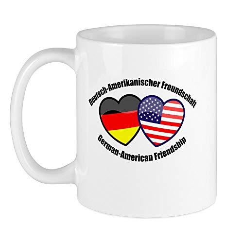 CafePress German-American Friendship Mug Unique Coffee Mug, Coffee Cup