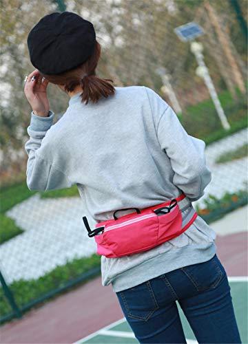 Impermeabile Mini Spalla Smartphone Marsupio Zaino Rosso Sport Bag Uomo Nylon A Donna Borsa Monospalla Leggero Skitor Waist Running Casual Ciclismo Tracolla Multifunzione Viaggio H0vAta