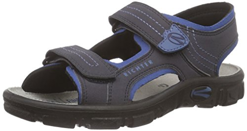 Richter Kinderschuhe Adventure, Jungen Sandalen, Blau (atlantic/pacific 7201), 33 EU