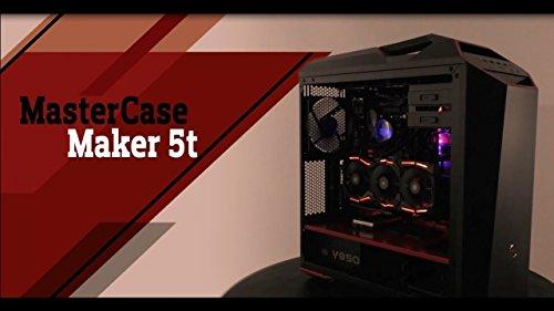 Mastercase Maker 5t - X299 AORUS Gaming 7 - LIQUID COOLED Intel Core i9-7900X 3.3GHz/2x SLI Nvidia GeForce GTX 1080 TI 11GB GDDR5X/4TB + 1TB SSD/64GB DDR4/1000W/Windows 10 Custom Gaming Desktop -