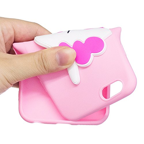 iPhone 6 / 6S Plus Hülle , Leiai 3D Pferd Leicht TPU Weich Tasche Schutzhülle Silikon Etui Handyhülle Stoßdämpfende Schale Fall Case Shell für Apple iPhone 6 / 6S Plus