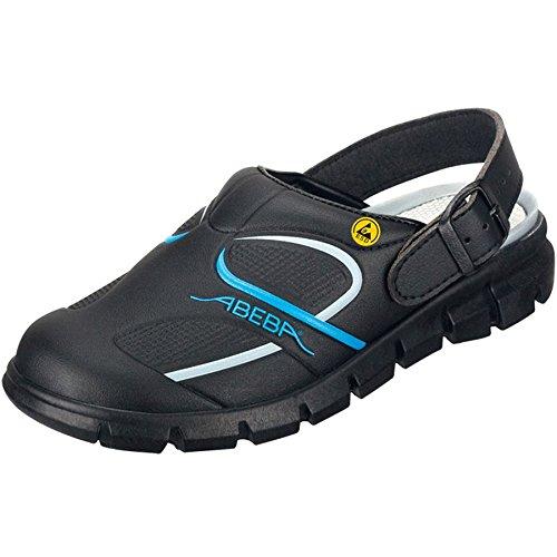 """Abeba 37331-48 tamaño 48 """"dinámicas"""" ESD-ocupacional-solución - zapatos negro/azul"""