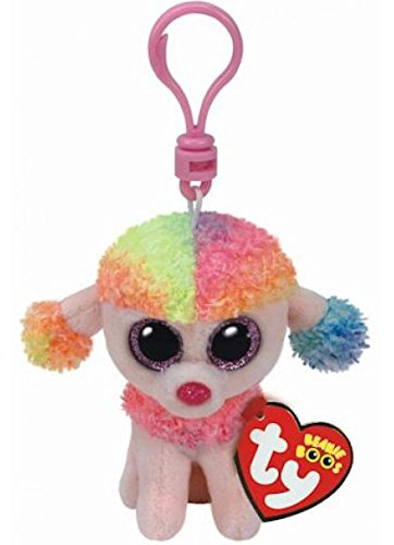05f9be2fb2c Image Unavailable. Image not available for. Color  TY Beanie Boos Rainbow  Poodle ...