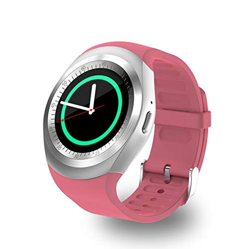 JIEGEGE Smart Watch, Men Women Models IP67 Waterproof Sport Bluetooth Bracelet, Intelligent Fitness Tracker SIM Card Call Watch, Touch Screen, 1.33 Inches - 1.33 Watch Inch Phone
