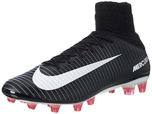 Nike Herren Mercurial Veloce Iii Df Ag-Pro Fußballschuhe Schwarz (Black/white/dk Grey/univ Red)