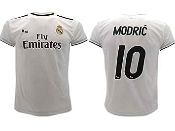 quality design 8ee5d 9d7ac Real Madrid Luka Modric 10 Official Soccer Jersey Shirt Mens ...