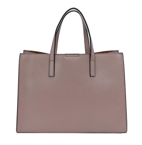 Purse Bag Lilac Satchel Top Crossbody Bags Tote Handle Handbags Shoulder Heshe Women Leather xq8Y87a