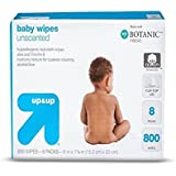 Up and Up Unscented Baby Wipes - 800 Count Refill Pack
