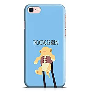 Loud Universe Lion King iPhone 7 Case King is born iPhone 7 Cover with 3d Wrap around Edges