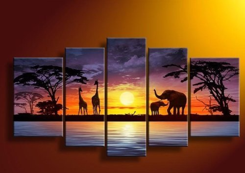 Africa Wall - 2