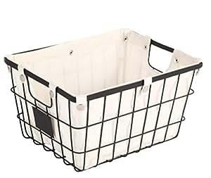 Sturdy Small Wire Storage Basket With