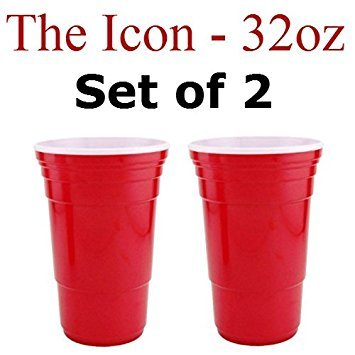 (Red Cup Living 32 Oz. Reusable Red Cup - Icon XL (Set of)