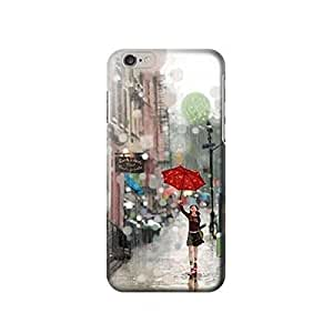"""Girl in The Rain inches iphone 5C Case,fashion design image custom iphone 5C inches case,durable iphone 5C hard 3D case cover for iphone 5C """", iphone 5C Full Wrap Case"""