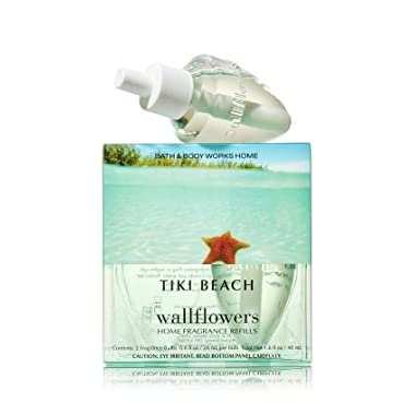 Bath & Body Works Wallflowers Home Fragrance Refill Bulbs 2 Pack Tiki Beach