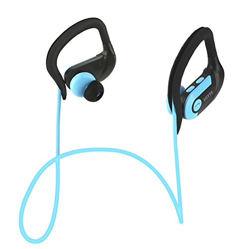 lgyyl bluetooth headphones sport wireless earbuds with mic waterproof headsets voice prompt. Black Bedroom Furniture Sets. Home Design Ideas