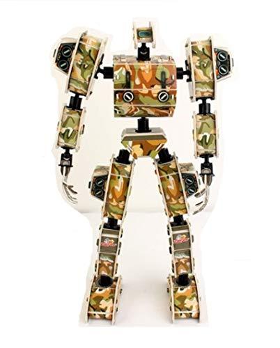 Zilipoo King Kong Paper Model Prototype Robot No.2 3D Solid Puzzle Paper Making Paper - Paper Robot Model