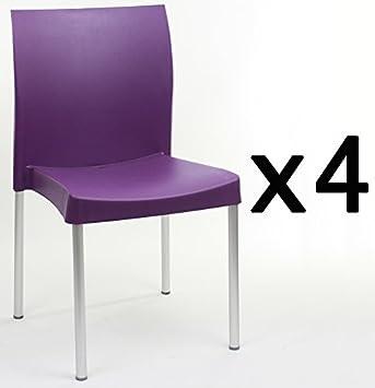 Diseño Plastico Factoriacentral Bruce Lote De 4 Con Sillas trCxsoQdBh
