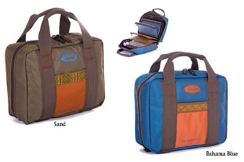 Fishpond Road Trip Fly Tying Compact Fishing Bag Sand