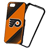 Forever Collectibles NHL 2-Piece Snap-On iPhone 5/5S Polycarbonate Case - Retail Packaging - Philadelphia Flyers