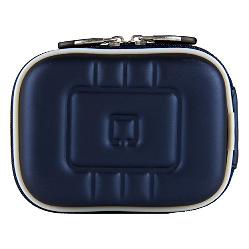 (VG EVA Compact Travel Camera Case w/Carbineer for Sony Cyber-Shot DSC-RX100 III/DSC-W800 / DSC-WX350 / DSC-W830 / DSC-W810 Digital Cameras (Blue))