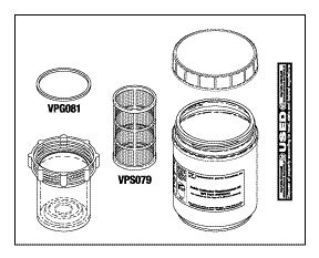 Solids Collector Replacement Kit - Case of (8) Kits VPK075