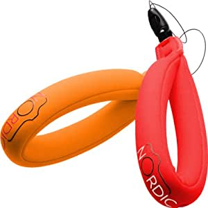 Nordic Flash Waterproof Camera Float - Pack of 2 - Red & Orange