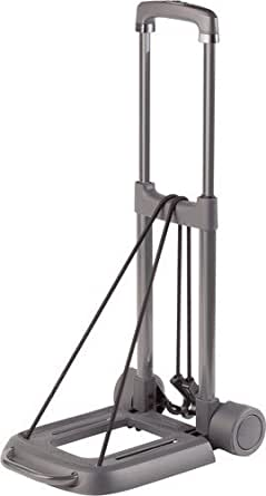TravelKart Travel Luggage Cart Black