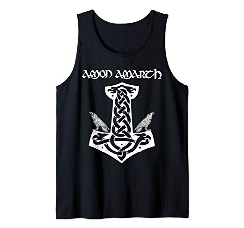 Amon Amarth: Mjolnir and Ravens Thors Hammer Vikings Tank -
