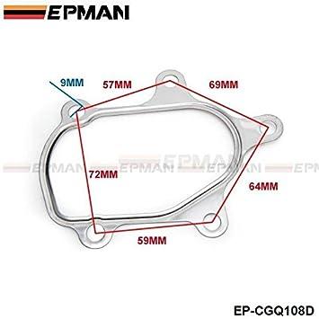 epman T25 T28 Turbo turbina en Out juego de juntas para Iveco Daily Fiat Ducato 466974 ep-cgq108d: Amazon.es: Coche y moto
