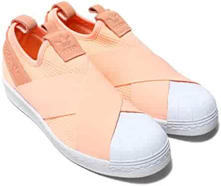buy popular f4b26 e53e5 adidas Originals Womens Superstar Slip-on Shoes AQ0919,Size 8.5