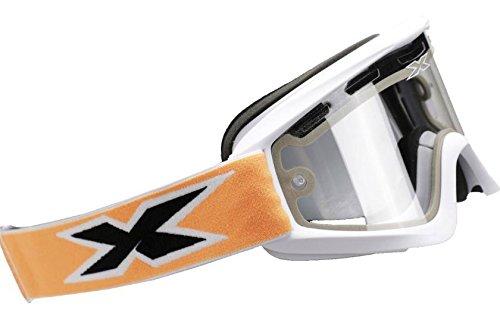 EKS BRAND Unisex-Adult GOX Snow Goggles (White/Blue, One - Brands Snow Goggles