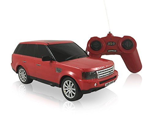 Land Rover Range Rover Sport 1:24 Scale Radio Controlled Model Car (Red)